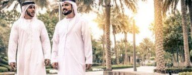 Arabic businessmen in Dubai